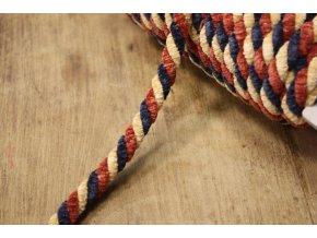 Efektní sametový provaz, 10mm