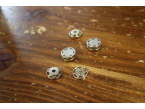 Kovové malé patentky, 12 mm