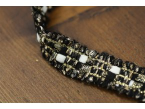 Ozdobní prýmek s třepením ve stylu Chanel