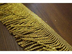 Zlaté benátské třásně, 7cm