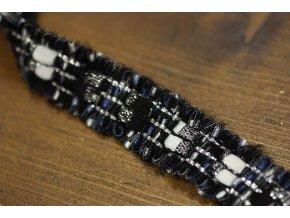 Ozdobný prýmek s třepením ve stylu Chanel
