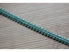 Klasický prýmek šedo-modrý, 7,5mm