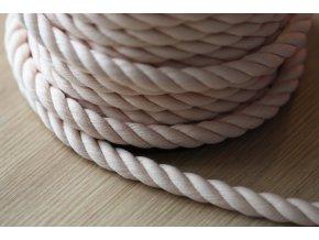 Bavlněný provaz, 5 barev, 10mm