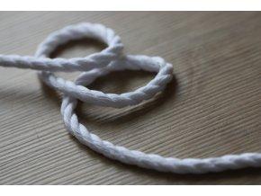 Bílý provaz, 5,5mm