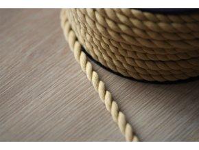 Bavlněný provaz, barvy  5mm