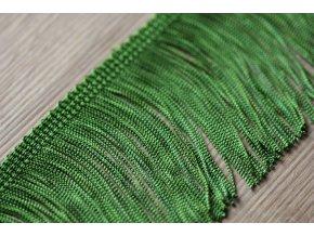 Trávově zelené třásně, 7 cm