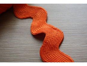 Široká oranžová vlnovka, 40mm