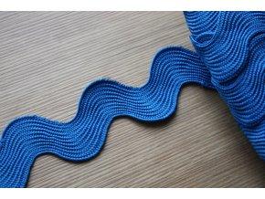 Široká modrá vlnovka, 40mm