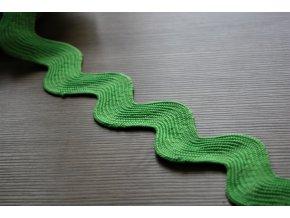 Široká zelená vlnovka, 40mm