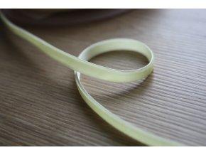 Žlutá sametová stuha, 7 mm