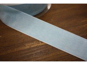 Světle modrá sametová stuha, 38 mm