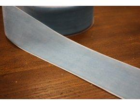 Světle modrá sametová stuha, 50 mm