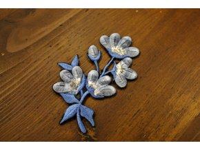 Plastická aplikace Jarní květy, 10 x 6,5 cm