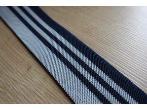 Modro-šedá pruhovaná guma, 45mm