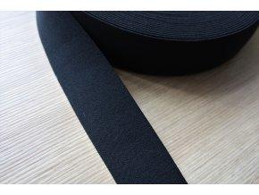 Černá měkká guma, 4cm