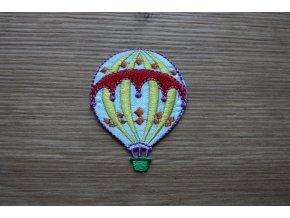 """Nažehlovací aplikace """"létající balón"""""""