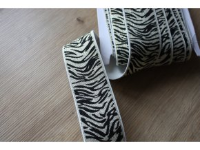 "Guma ""Zebra"" s lurexem, 40mm"