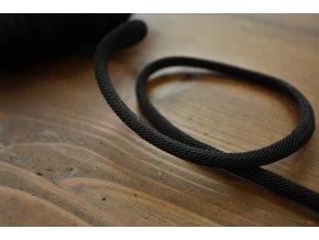 Luxusní provaz Cordonbel, černý