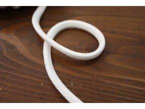 Luxusní provaz Cordonbel, bílý Prunus