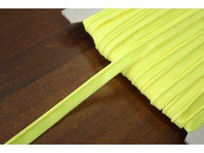 Neonově žlutá paspulka, 3 mm