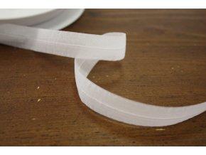 Transparentní jemná guma - lemovka, 2 barvy (16 mm)