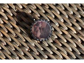 Kovový knoflík s fotografii, 18mm