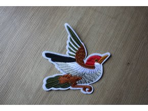 Nažehlovací aplikace kolibřík ve stylu Gucci
