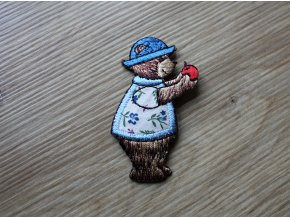 Nažehlovací aplikace ve tvaru medvídku