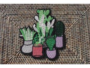 """Nažehlovací aplikace """"kaktusy"""""""