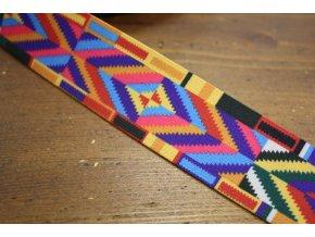 Vzorovaná guma Mexico, 4cm