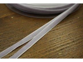 Světle fialová sametová stuha, 7 mm