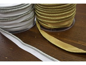 Zlatá a stříbrná paspulky, 5mm