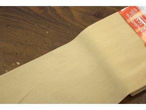 Tělová průsvitná široká guma, 12cm