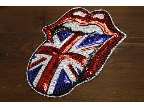 Nažehlovací aplikace Rolling  Stones