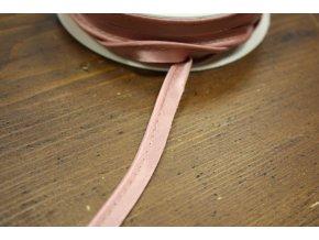 Starorůžová saténová paspulka, 3mm
