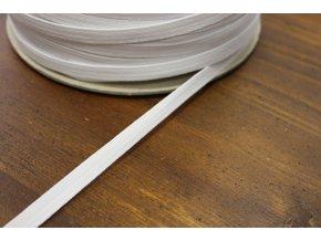 Bílá líčková pruženka, 10 mm