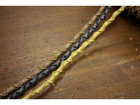 Luxusní provaz ve 3 barvách, 5mm