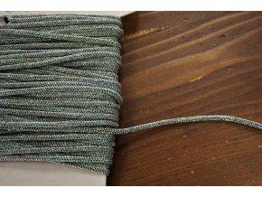 Efektní provaz s třpytky, 3mm