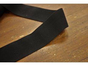 Černá měkká guma, 38mm