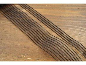 Černá guma- siť, 13mm a 35mm