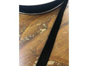 Černá sametová stuha, 9 mm
