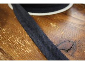 Manžestrový šikmý proužek, 25 mm