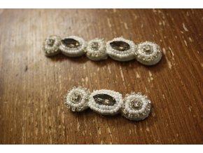 Aplikace z kamínků Dolce & Gabbana