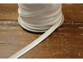 Smetanová saténová výpustka, 3 mm