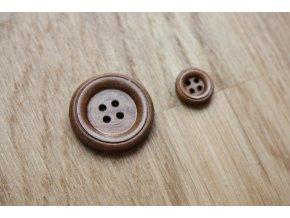 Dřevěný knoflík, 11 mm, 24 mm