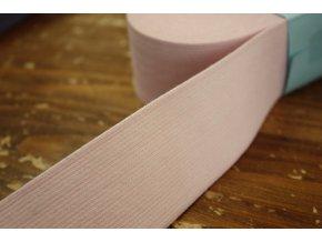Široká světle růžová guma, 45 mm