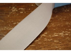 Široká světle béžová guma, 45 mm