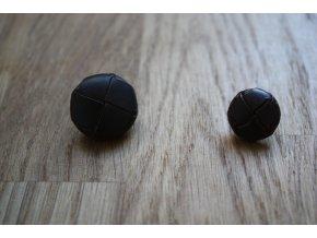 Kožený knoflík 26mm, 16mm
