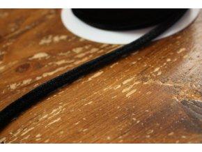 Kulatá sametová guma, 6 mm