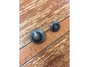 Kovový knoflík s erbem, 25mm